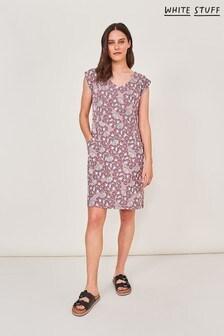 White Stuff Purple Lena Fairtrade Dress