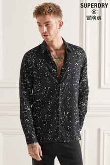 Superdry Black Studios Modern Tailor Shirt
