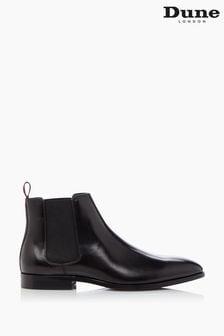 Dune London Black Mantle Chelsea Boots