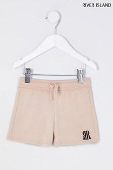 River Island Neutral Shorts