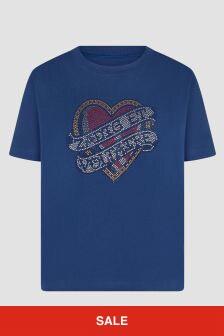 Zadig & Voltaire Girls Blue T-Shirt