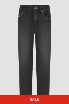 Zadig & Voltaire Girls Black Jeans