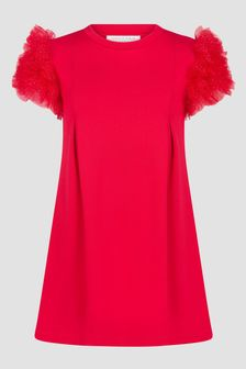 Charabia Red Dress