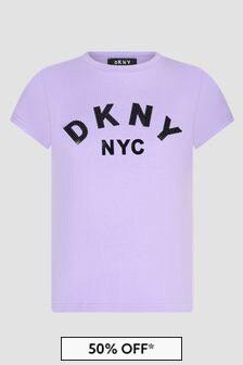 DKNY Girls Purple T-Shirt