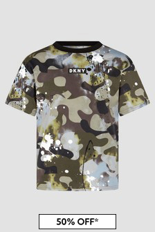 DKNY Khaki T-Shirt