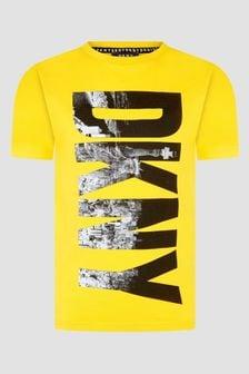DKNY Yellow T-Shirt