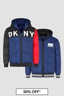 DKNY Boys Navy Jacket