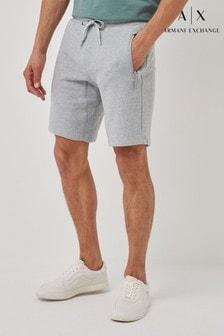 Armani Exchange Logo Jersey Shorts