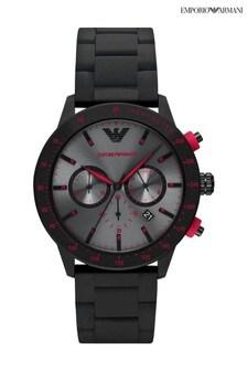 Emporio Armani Black Mario Watch