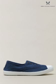 Crew Clothing Company Laceless Trainers