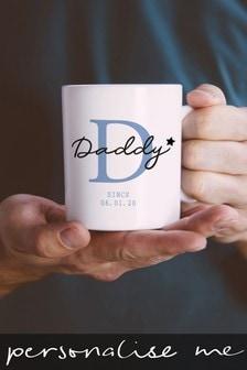 Personalised Fathers Day Daddy Mug
