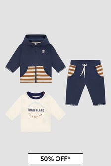 Timberland Boys Navy Tracksuit