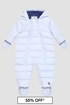 Timberland Boys Blue Snowsuit