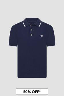 Timberland Boys Navy Polo Shirt
