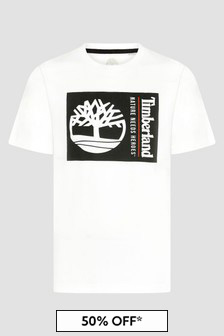 Timberland Boys White T-Shirt