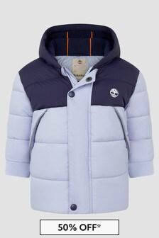 Timberland Baby Boys Blue Jacket