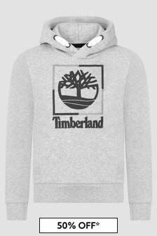 Timberland Kids Grey Hoodie