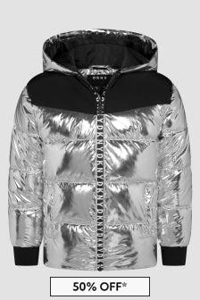 DKNY Silver Jacket