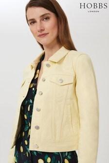 Hobbs Yellow Mariam Jacket