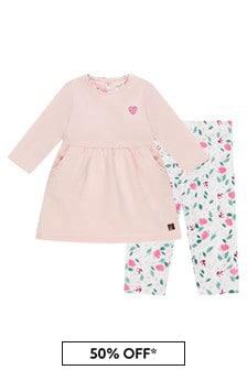 Carrement Beau Baby Girls Pink Set
