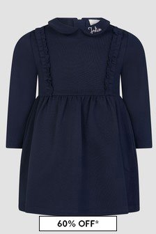 Carrement Beau Baby Girls Navy Dress