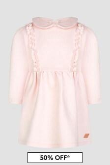 Carrement Beau Baby Girls Pink Dress
