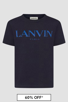 Lanvin Boys Green T-Shirt
