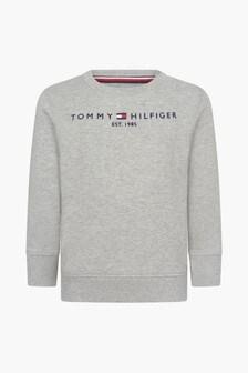 Tommy Hilfiger Baby Boys Grey Sweat Top