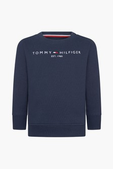 Tommy Hilfiger Baby Boys Navy Sweat Top