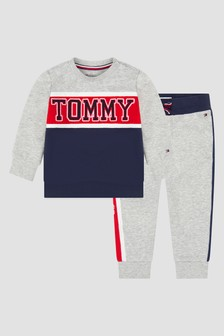 Tommy Hilfiger Baby Boys Navy Tracksuit