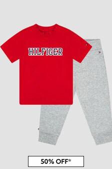 Tommy Hilfiger Baby Boys Grey Joggers