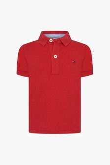 Tommy Hilfiger Baby Boys Red Polo Shirt