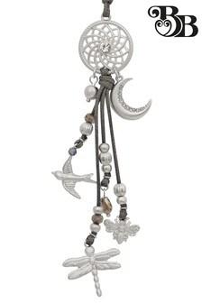 Bibi Bijoux Grey Cord Summer Charm Necklace