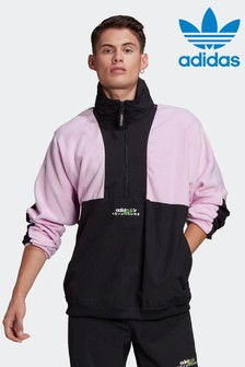 adidas Adventure Polar Fleece Colourblock Half Zip Jacket