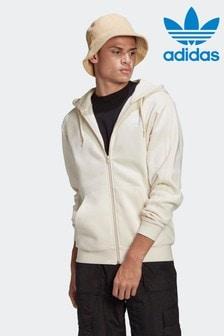 adidas Adicolor 3-Stripes Full-Zip No-Dye Hooded Track Top