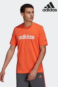 adidas Essentials Embroidered Linear Logo T-Shirt
