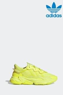 adidas Yellow OZWEEGO Trainers