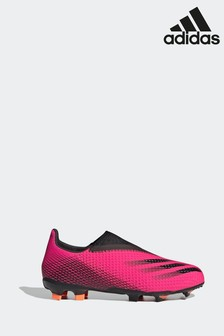 adidas X Ghosted.3 Laceless Firm Ground Football Boots