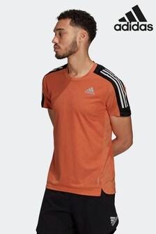 adidas Originals Own The Run 3-Stripes Running T-Shirt