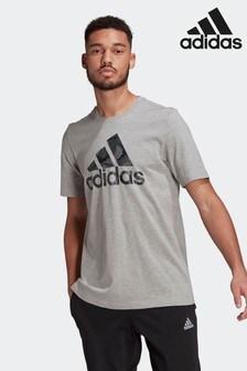 adidas Essentials Camouflage Print T-Shirt