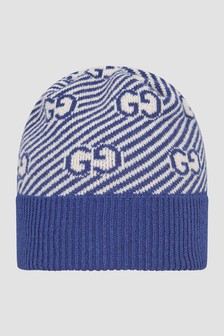 GUCCI Kids Blue Hat