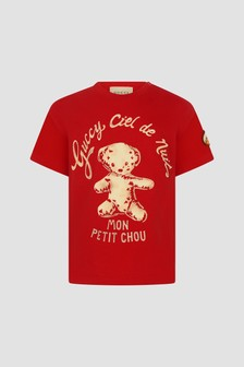 GUCCI Kids Baby Red T-Shirt