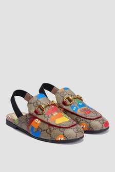 GUCCI Kids Unisex Nude Sandals