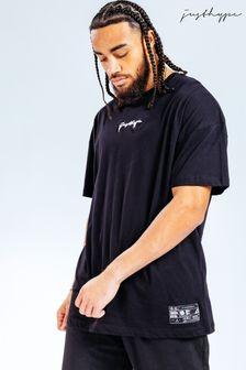 Hype. x E.T Black Oversized Back Print T-Shirt