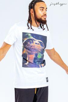Hype. x E.T White Graphic Print T-Shirt