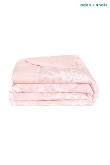 aden + anais Pink Ophelia Embrace Toddler-Bed Weighted Blanket