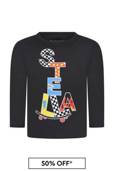 Stella McCartney Kids Black T-Shirt