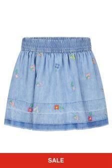 Stella McCartney Kids Blue Skirt