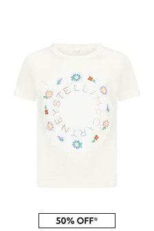 Stella McCartney Kids Cream T-Shirt