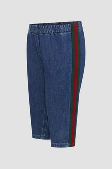 GUCCI Kids Blue Jeans